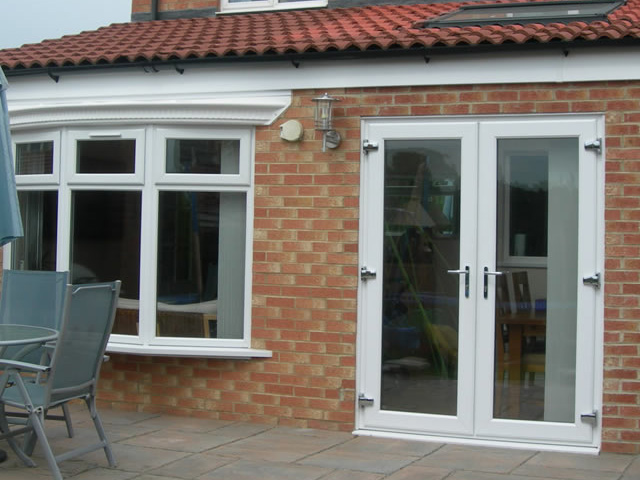 Upvc french patio doors modern patio outdoor for Double glazed upvc patio doors