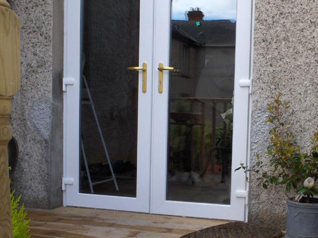 Upvc doors upvc double glazed windows doors for Double glazed upvc french doors